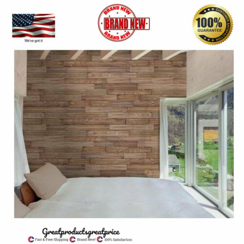 Design Innovations Reclaimed Shiplap 10.5-sq ft Weathered Grey Wood Wall Plank