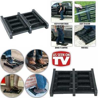 Jobsite Boot Scrubber Flat Mat Scraper Brush As Seen On TV 1 Pack
