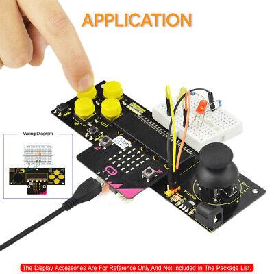 Keyestudio Gamepad Joystick Module Development Board For Bbc Microbit
