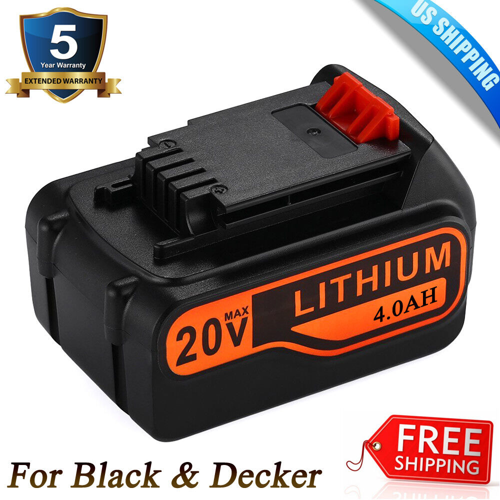 LB2X4020-OPE BATTERY FOR BLACK+DECKER 20V MAX LITHIUM LBXR20
