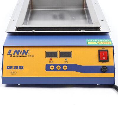 2kw 21.2kg Digital Tin Furnacetemperature Control Lead-free Titanium Solder Pot
