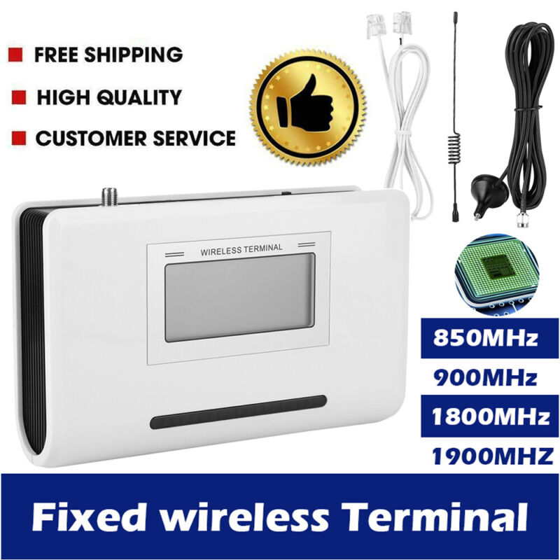 FWT Fixed Wireless Terminal GSM SIM Desktop Phone Caller GSM900/850/1800/1900MHZ