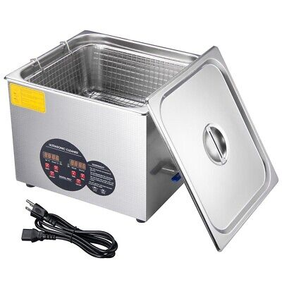 1.3l6l 10l 15l Ultrasonic Cleaner Stainless Steel Industry Heated Heater Wtimer
