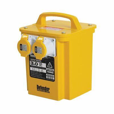 Defender E203010 110V 3000W 3kVA Portable Transformer