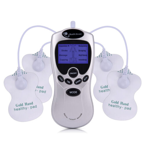 TENS Unit Electrical Muscle Stimulator Electronic Pulse Massager Pain Relief US Health & Beauty