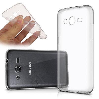 Cases Ultraslim Silicone Samsung Galaxy Core II SM-G355H TPU Super Slim