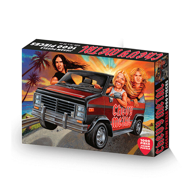 Roadcrates Jigsaw Puzzle Chevy Metal 1000 Pieces Game/Activity Fun Toy 14y+