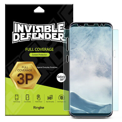 Samsung Galaxy S8 Plus Screen Protector | Ringke [Full Coverage] Skin Film [3pc]