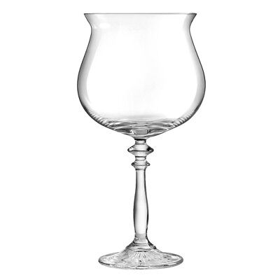Ginsanity 1924 Jazzy Vintage Balloon Gin Glass Goblets (22oz)