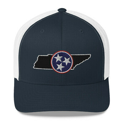 Tennessee TriStar Hat - Embroidered Tri-star State Hat by Rocky Top Traditions