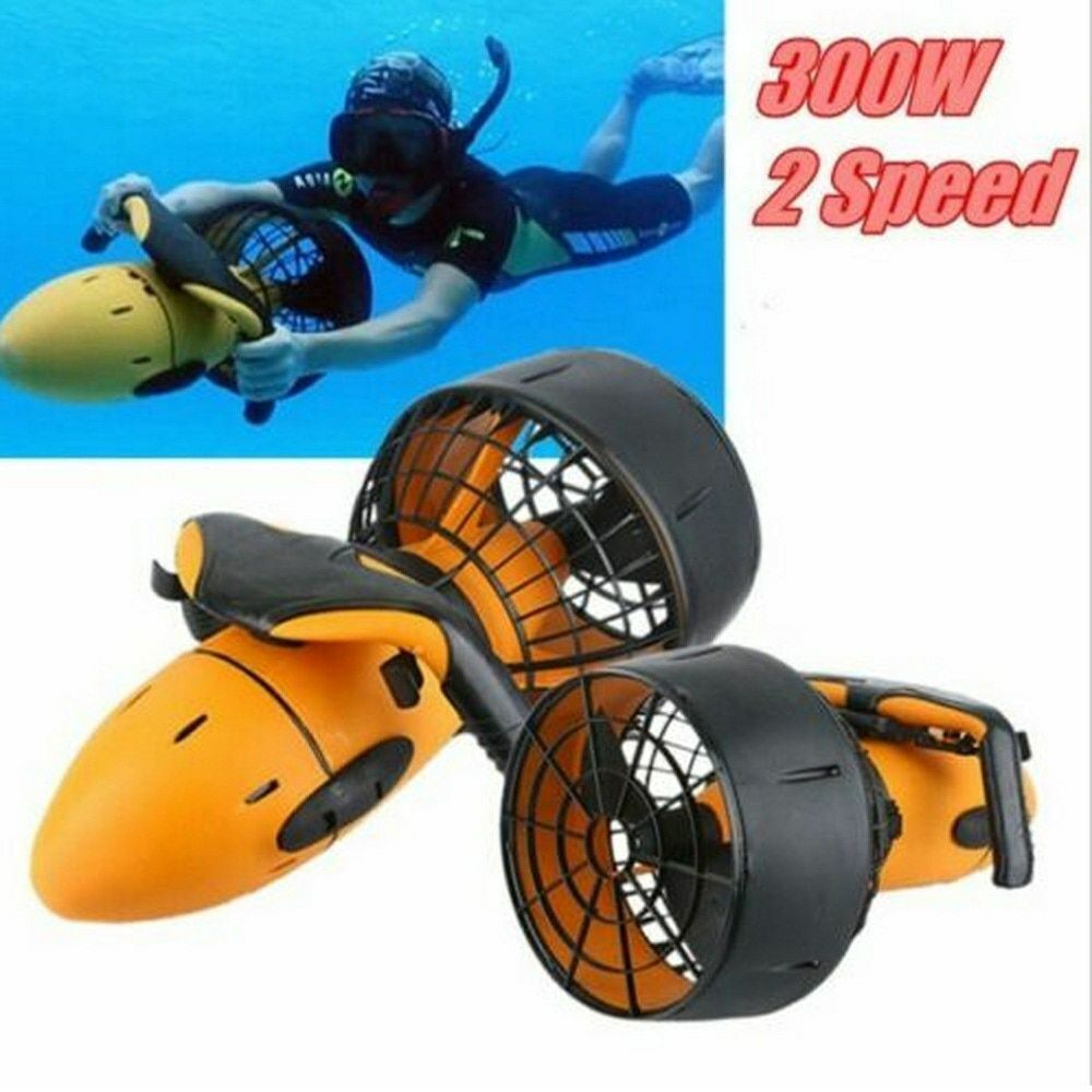 300w waterproof electric underwater scooter water sea