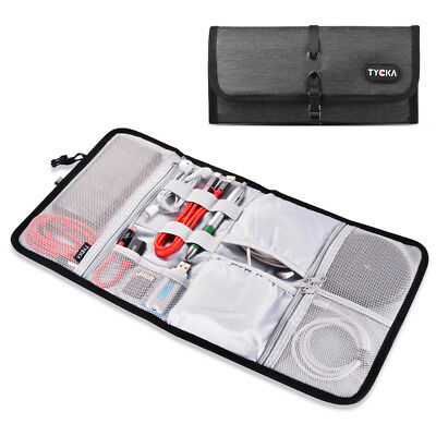 Electronic Accessories Cable Organizer Bag Travel USB Charger Storage Case TK308