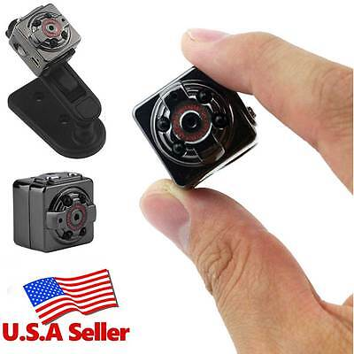 SQ8 HD 1080P Mini DV Hidden Spy Camera Video Recorder Camcorder Night Vision