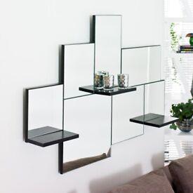 Dwell Triple Shelf Mirror | RRP £199