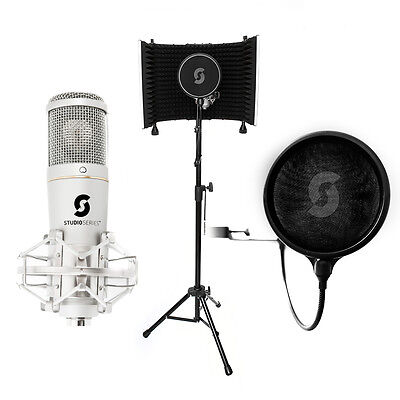 Home Recording Deal - SL150 USB Microphone, Vocal Booth, Pop Filter, cables