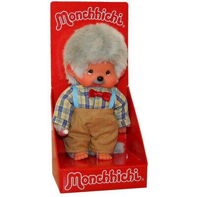 Monchhichi Großvater Opa 20 cm Sekiguchi Mohair Plüsch Monchi