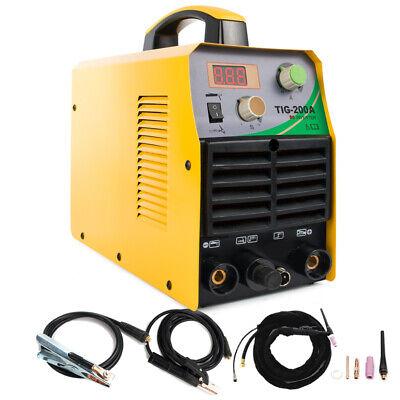 Tig-200 Dc Inverter 220v Tig Welder Electric Hf 200amp Arc Stick Welding Machine
