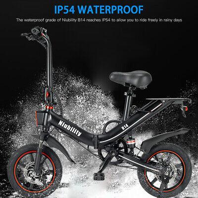"""Niubility 14"""" Folding Electric Bike City ebike 400W 25km/h with App Control M5B3"""