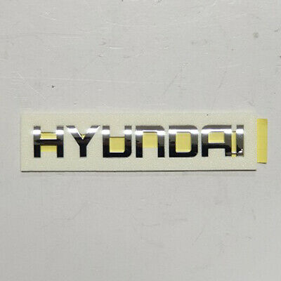 HYUNDAI Genuine 86353-A5000 Symbol Mark H Logo Emblem Rear