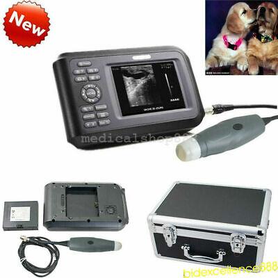New Veterinary Ultrasound Scanner Machine Handheld For Animal Dogpet Fdace