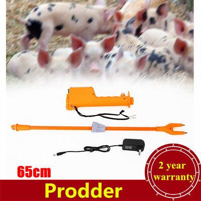 65cm Rechargeable Electric Livestock Cattle Pig Prod Safety Shock Prodder Farm