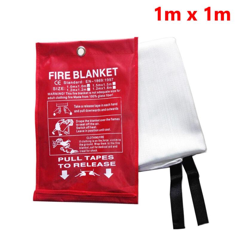 Emergency Fire Blanket Welding Protective Fabric Fiberglass Flame Retardant