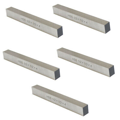 5 Pc M42 Cobalt Steel Square Lathe Tool Bits Fly Cutter 14 X 14 X 2-12