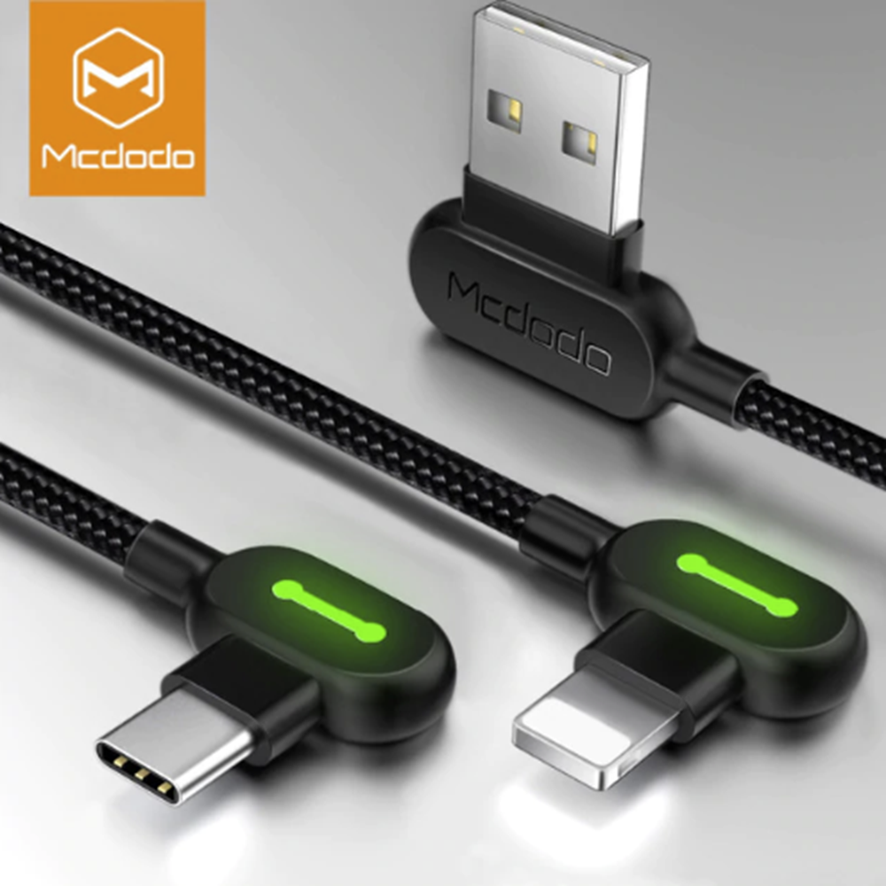 Mcdodo lightning/Type C/Micro USB Charger Charging Cable Cor