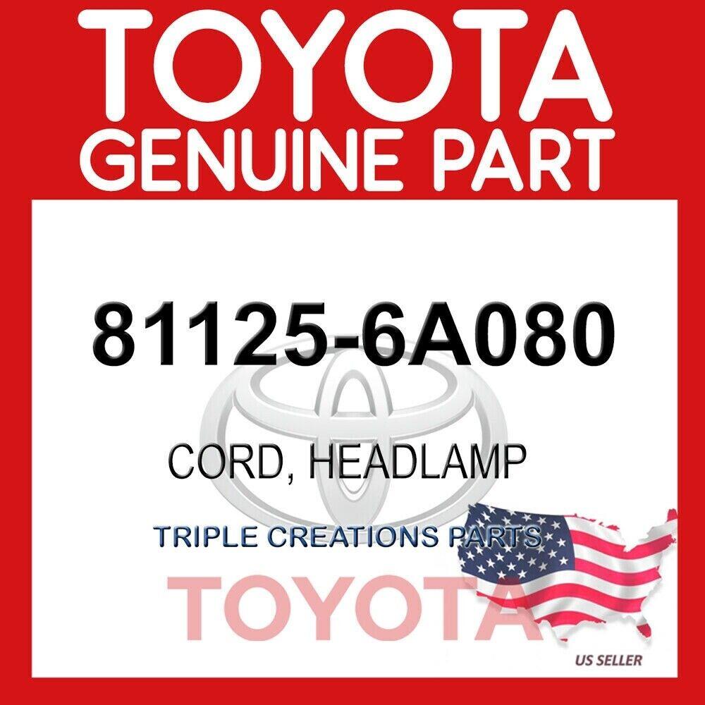 81125-6A080 GENUINE HEADLAMP CORD FOR LEXUS LX470