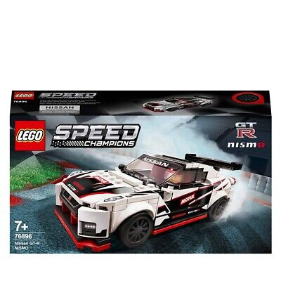 LEGO Speed Champions Nissan GT-R NISMO Car Set 76896 Age 5+ 298pcs