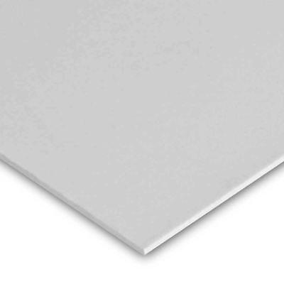 High Impact Polystyrene Plastic Sheet .030 X 48 X 96 - White Hips