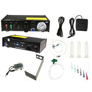 982A 110V Solder Paste Controller Glue Dropper Glue Liquid Adhesive Dispenser