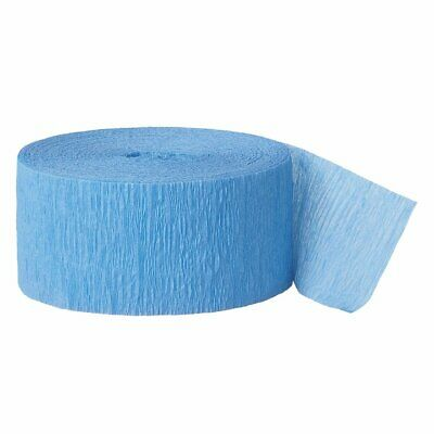 Blue Streamers (Crepe Paper Blue Party Streamers)
