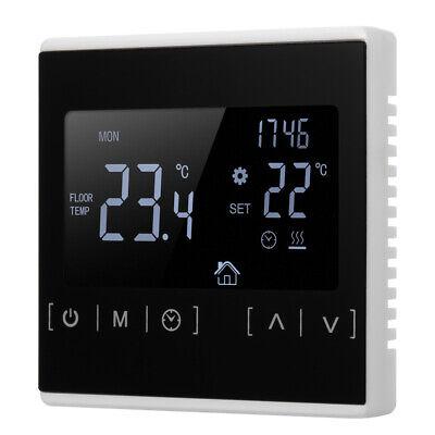 LCD Digital Thermostat Raumthermostat FußBodenheizung Wandheizung Weiß New
