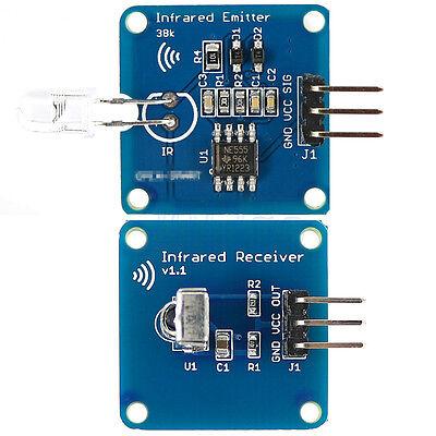 Ne555 Infrared Transmitter Ir Receiver Module With 38k Carrier For Arduino Yg