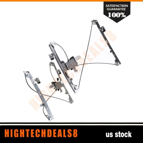 Power Window Regulator Front Left Right with motor for 02-06 Cadillac  Escalade