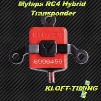 Mylaps RC4 Hybrid Transponder 2-Kabel #10R078 -- NEU -- inkl. Kunststoffhalter