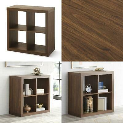 Better Homes & Gardens Square 4-Cube Storage Organizer, Vintage