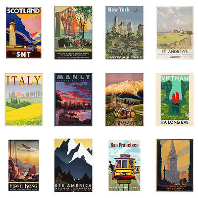 Travel and film posters are talking points