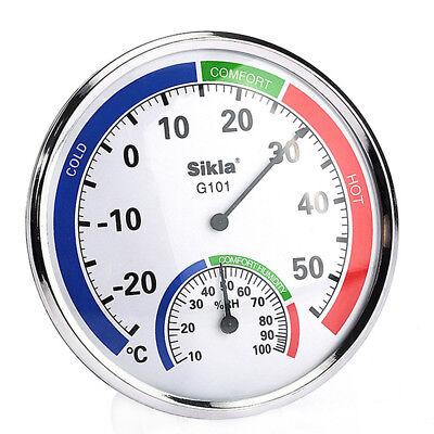 Termometro Igrometro Analogico Misura Temperatura Umidità IN OUT Casa Ufficio