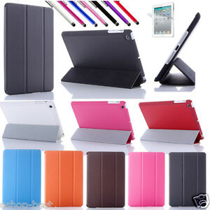 For Apple New iPad 4,iPad 3/2 Smart Cover Skin Case Hard Back Case