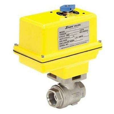 Sharpe Valves Electric Ball Valve 14 100 Psi Max 14 124mseaiirx