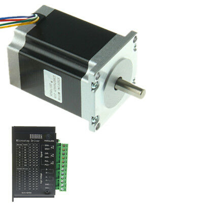 Nema 23 Stepper Motor W Driver Tb6600 Kit 1.9 N.m