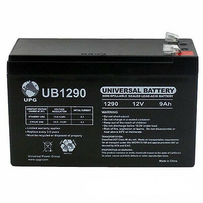 UPG 12V 9AH APC Back UPS Pro 500 Replacement SLA (Apc Back Ups Pro 500 Replacement Battery)