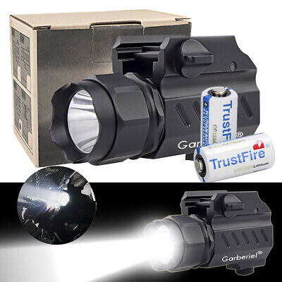Garberiel G02 LED Tactical stund Gun Flashlight 2-ModePistol Torch Light Battery