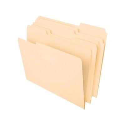 Staples File Folders 3 Tabs Letter Size Manila 50box 25775 541077