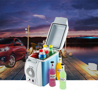 12V Mini Auto-Kühlschrank Kühlbox Kühler Wärmer Warmhaltebox Thermobox 7,5L