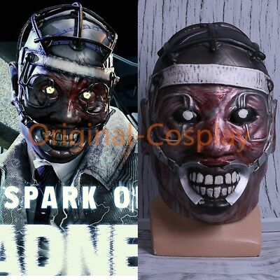 The Scary Halloween Games (Game Dead by Daylight Cosplay Spark Of Madness Mask The Doctor Scary Mask)