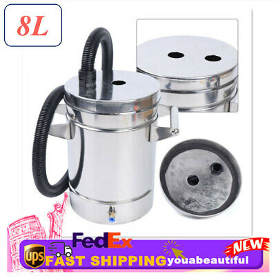 Small 8l Stainless Steel Fluidized Powder Hopper Bucket For Coating Machine