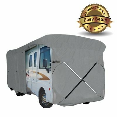 New Easy Setup 28'-30' Class A RV Cover Fits Motorhome with Assist Pole